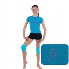 Футболка гимнастка со скакалкой RG650.13