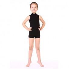 Комбинезон гимнастический низ шортиками без рукавов